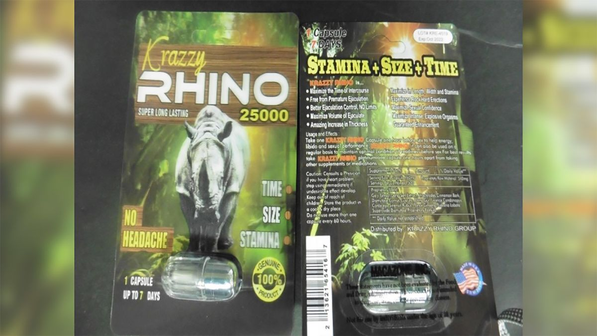 FDA issues warning about Rhino male enhancement products - CNN