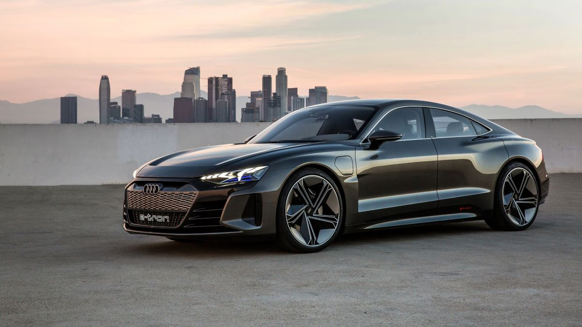 Audi Reveals The E Tron Gt Its New All Electric Sports Car