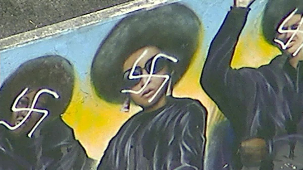 f44589d874059 Black Panthers mural in Los Angeles defaced with swastikas - CNN