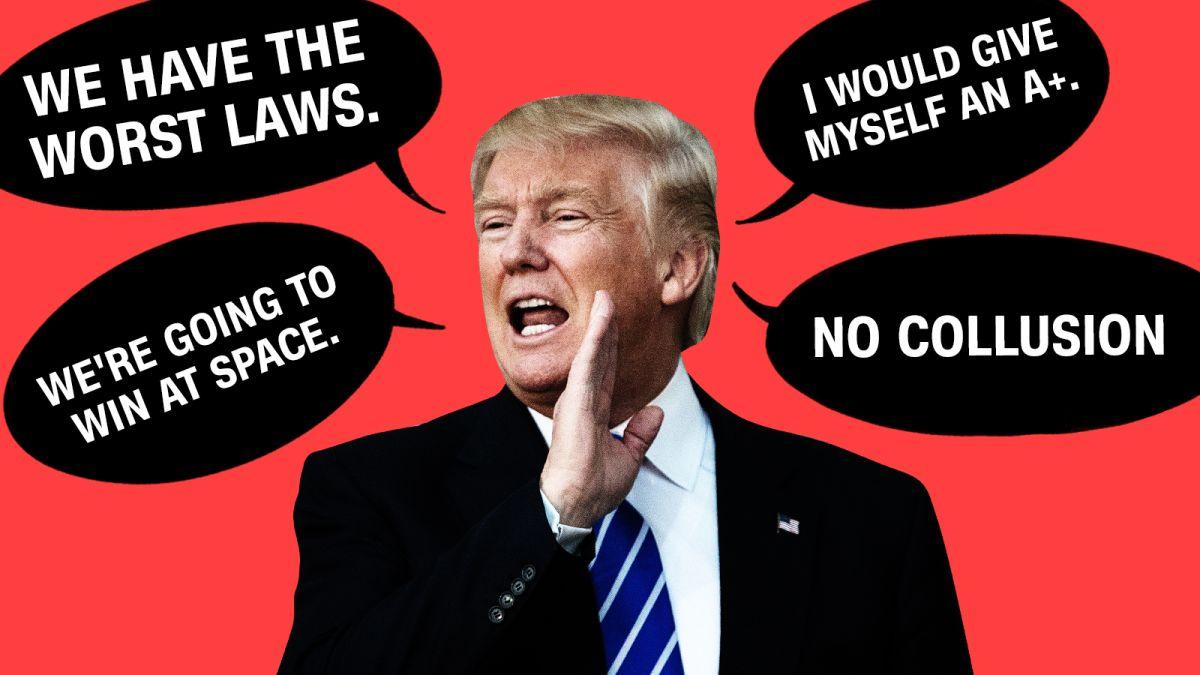 The 41 most unreal Donald Trump quotes of 2018 - CNNPolitics