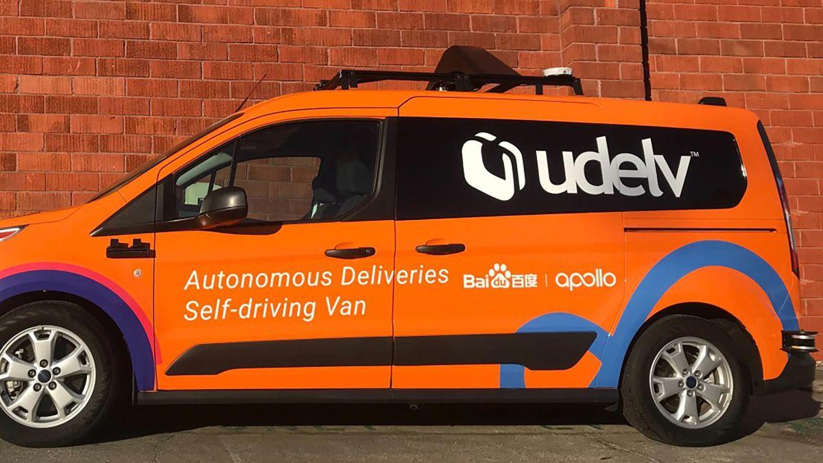Walmart taps Baidu-powered autonomus car startup for delivery