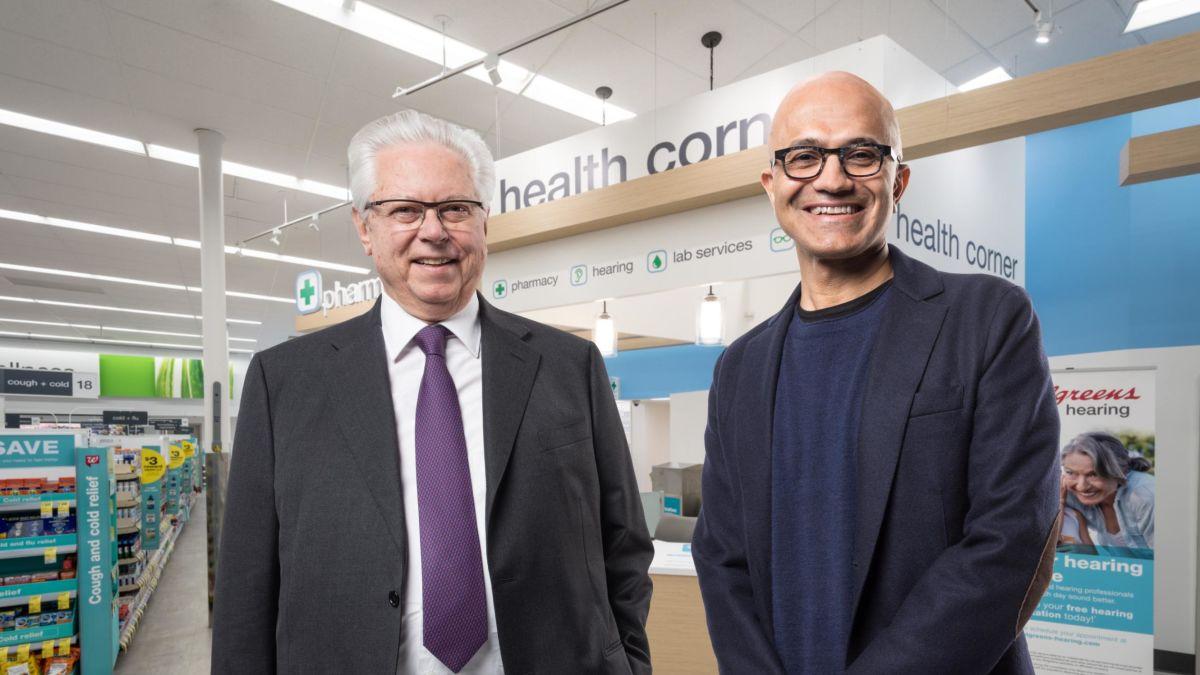 cnn.com - By Paul R. La Monica, CNN Business - Microsoft, Walgreens partner in health care