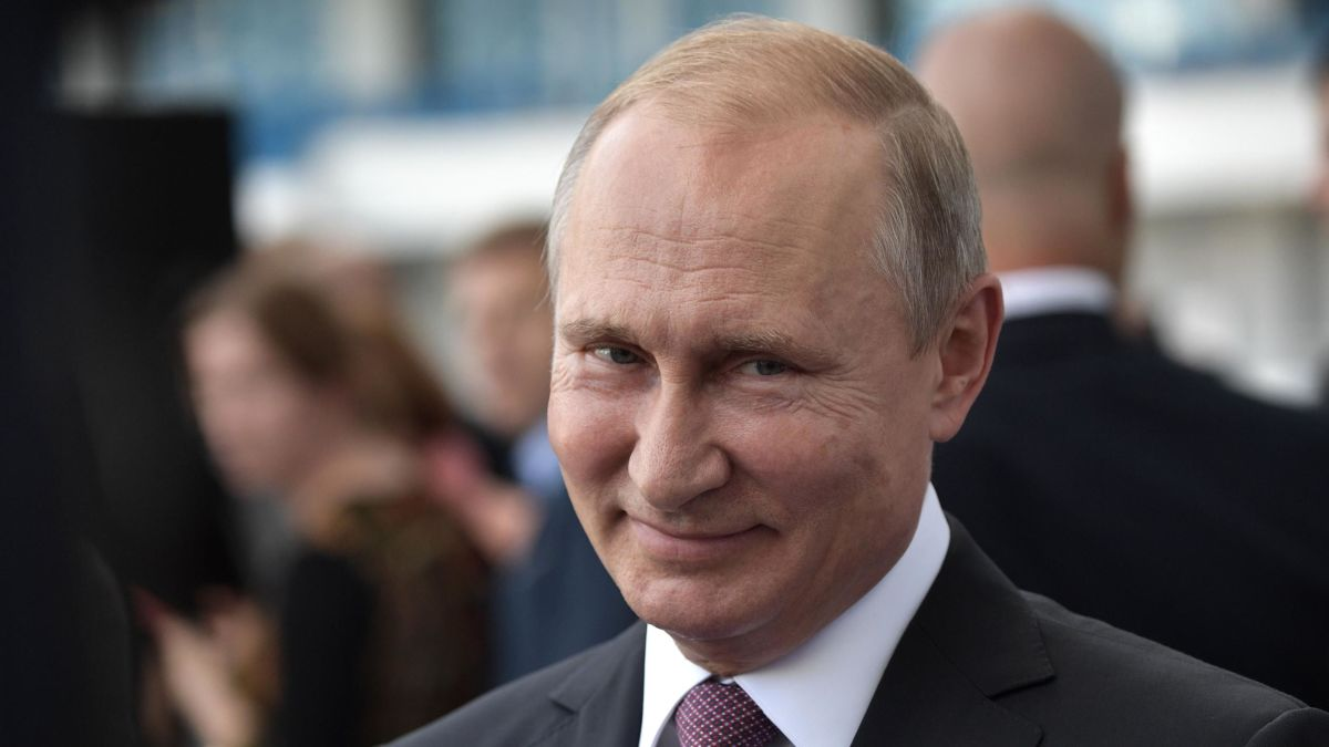 Putin Jokes That Russia Will Meddle In 2020 Us Elections Cnnpolitics