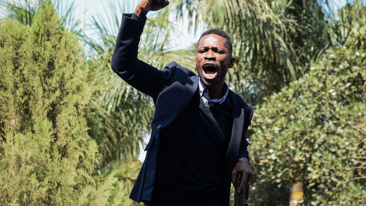 cnn.com - By Bukola Adebayo and Idris Mukthar, CNN - Police surround home of Ugandan opposition politician Bobi Wine