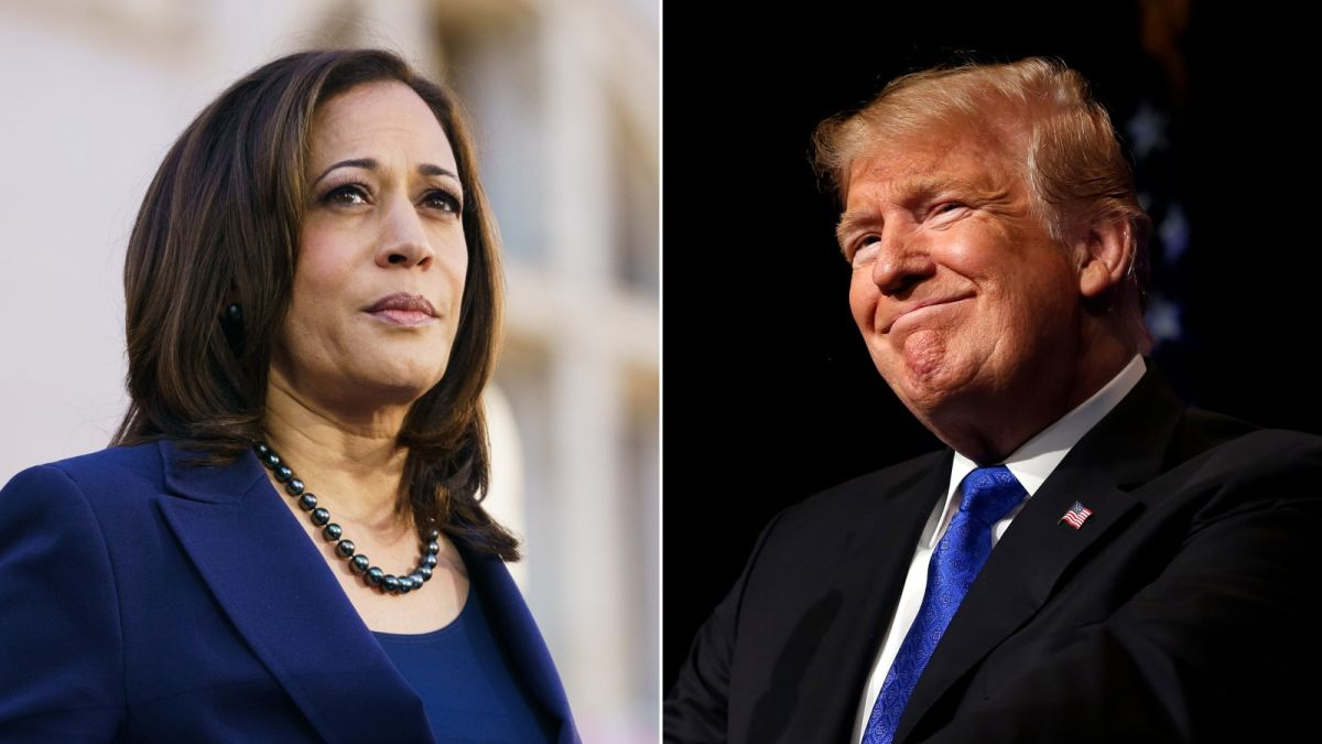 Donald Trump's spot-on compliment for Kamala Harris - CNNPolitics