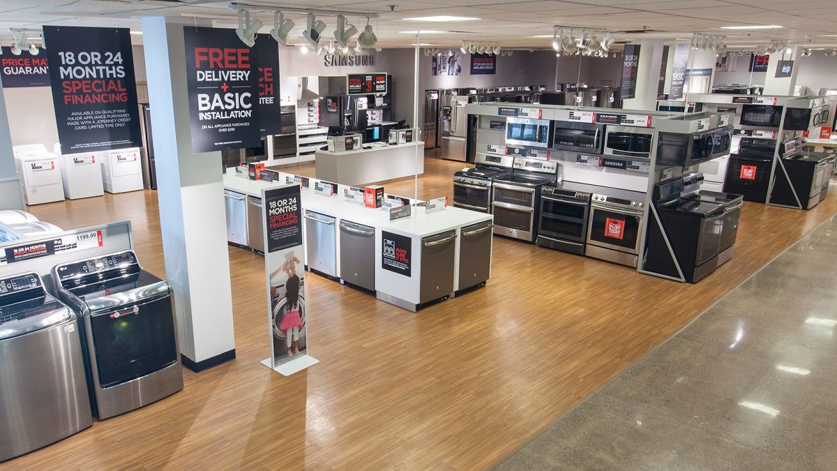 JCPenney is ditching appliances and most furniture from its