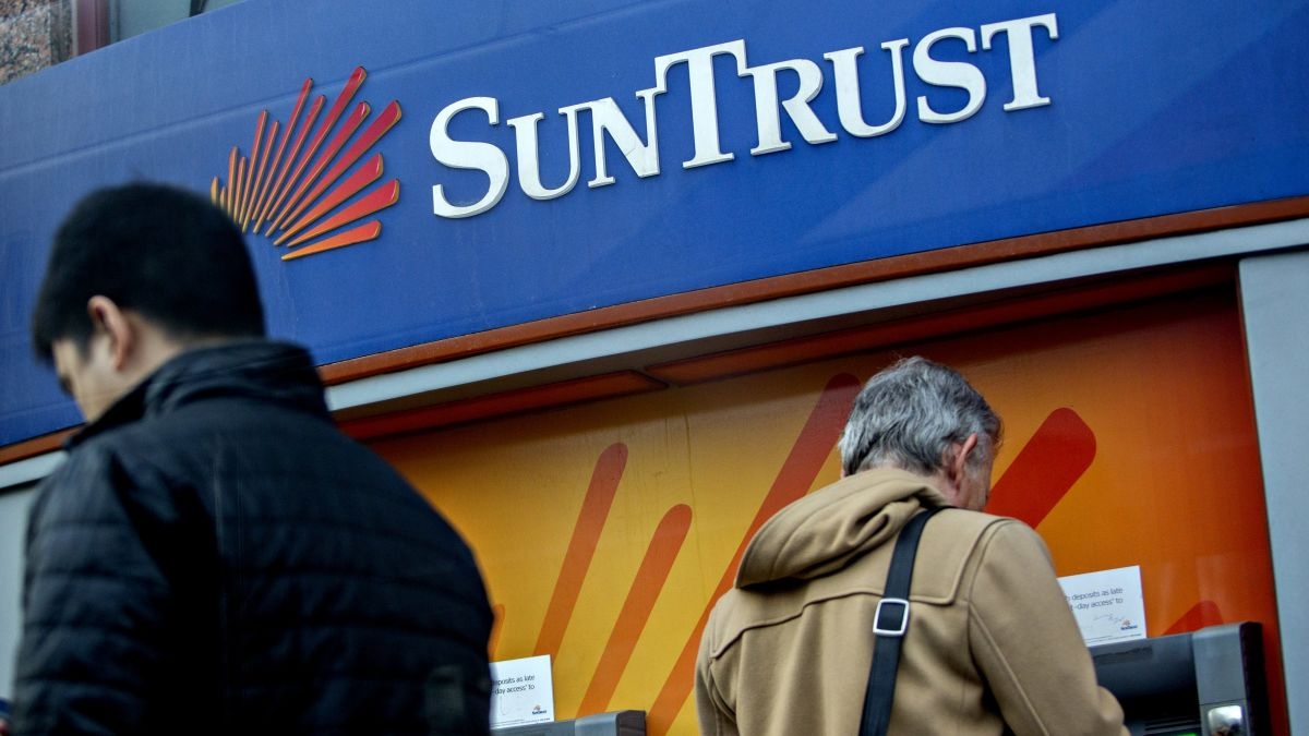 BB&T and Suntrust to combine for $66 billion, creating the sixth