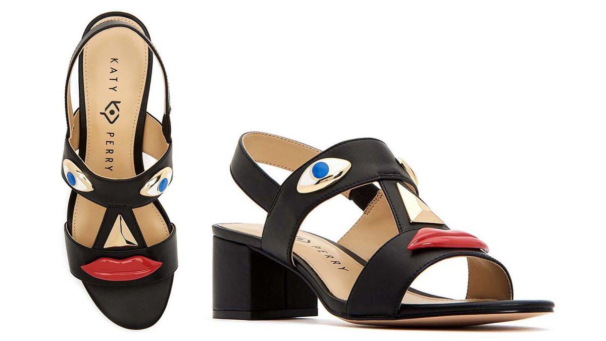 Katy Perry: shoes evoking blackface
