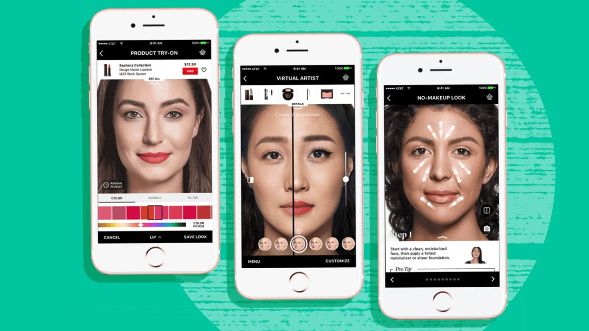 Virtual makeovers are better than ever  Beauty companies are trying