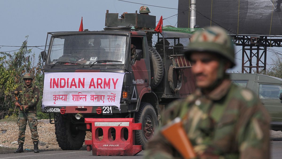 India says it has launched air strikes in Pakistan