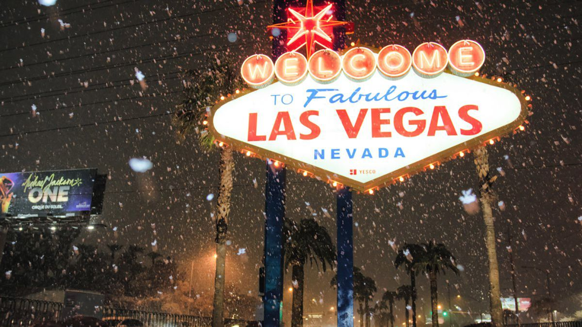 2020 Christmas Is There Snow In Vegas Snow in Las Vegas? Oh yes!   CNN