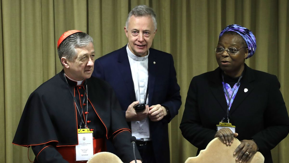 Vatican sex abuse summit: A nun just read the riot act to