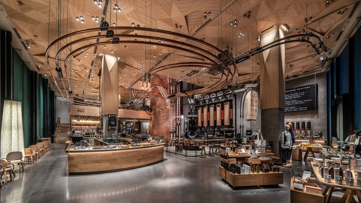 Starbucks Reserve Roastery Tokyo New Store Is Its Biggest