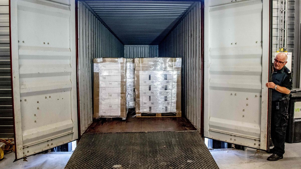 Dutch seize 90,000 vodka bottles thought heading to North