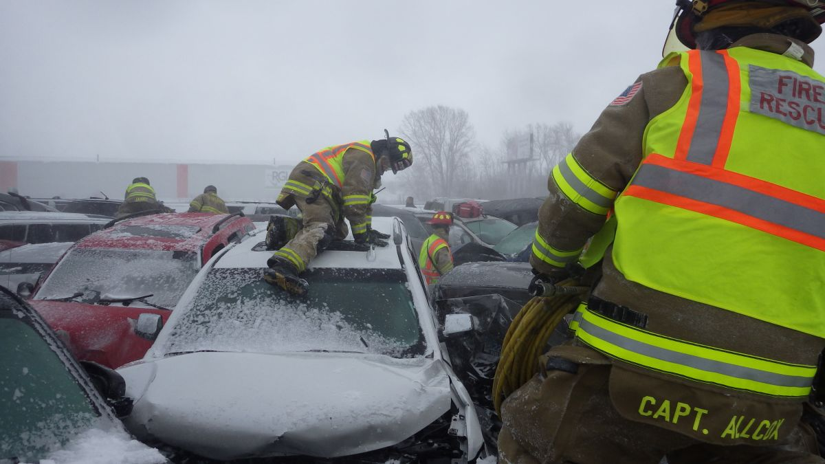 131-car pileup on a Wisconsin highway: The terror revealed