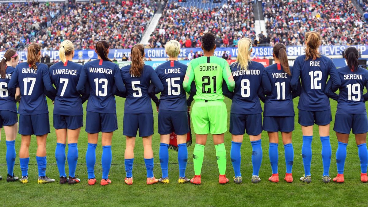 US women s soccer team honors Cardi B 87d924331