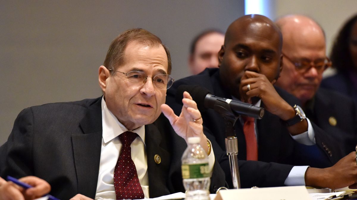 Image result for photos of nadler at work congressional hearing