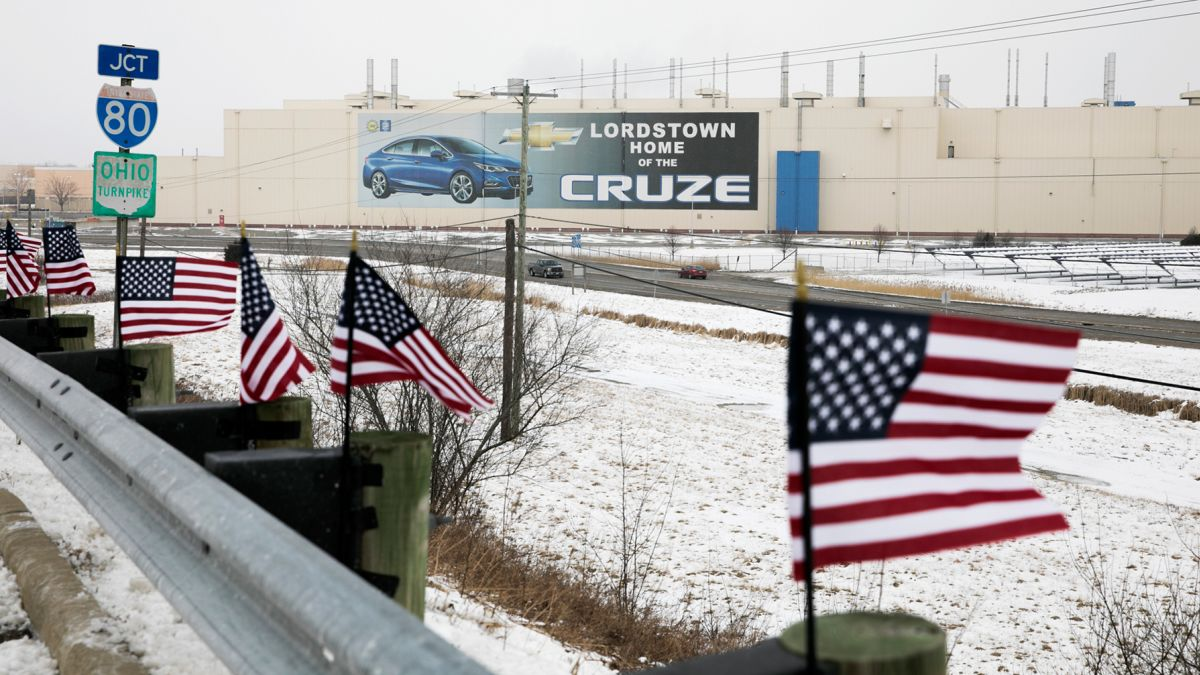 As GM's Lordstown plant idles, an iconic American job nears