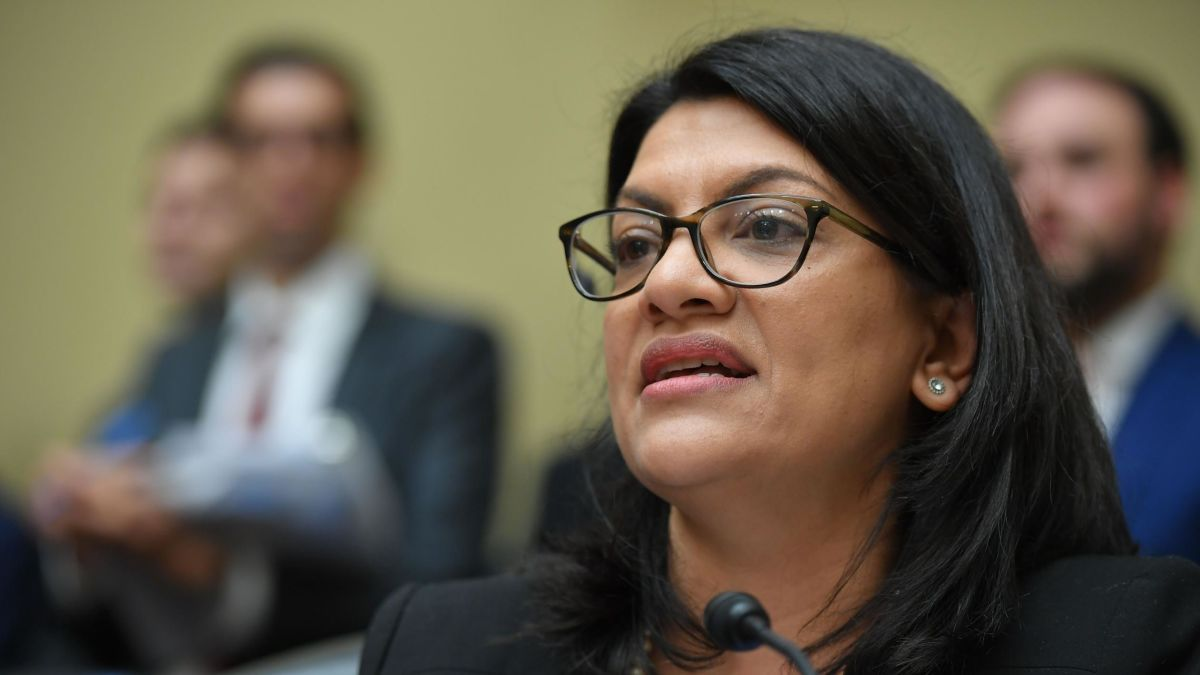 Rashida Tlaib stands by Israel and Holocaust comments amid criticism