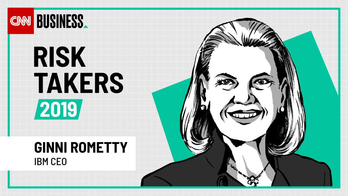 IBM CEO Ginni Rometty is shaping the company' future with a