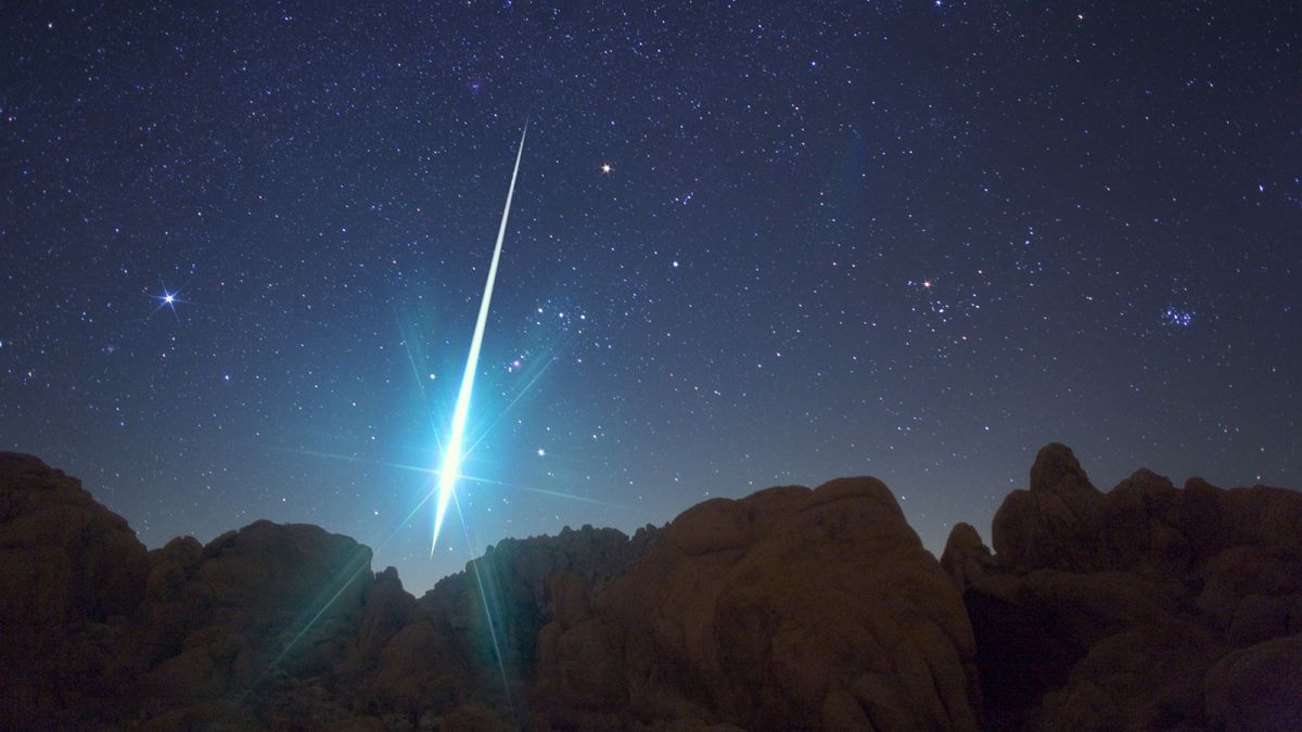A meteor exploded in the Earth's atmosphere with 10 times the energy