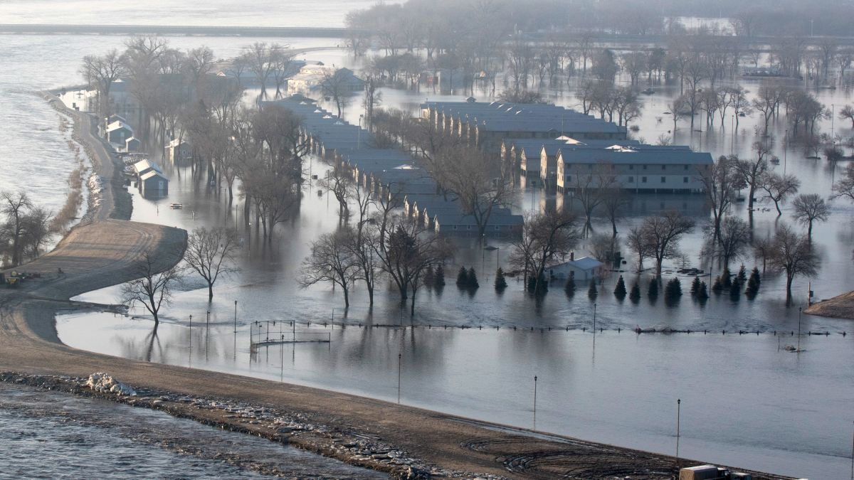 Image result for 74 Nebraska cities issue emergency declarations amid historic floods that killed 4 and displaced hundreds