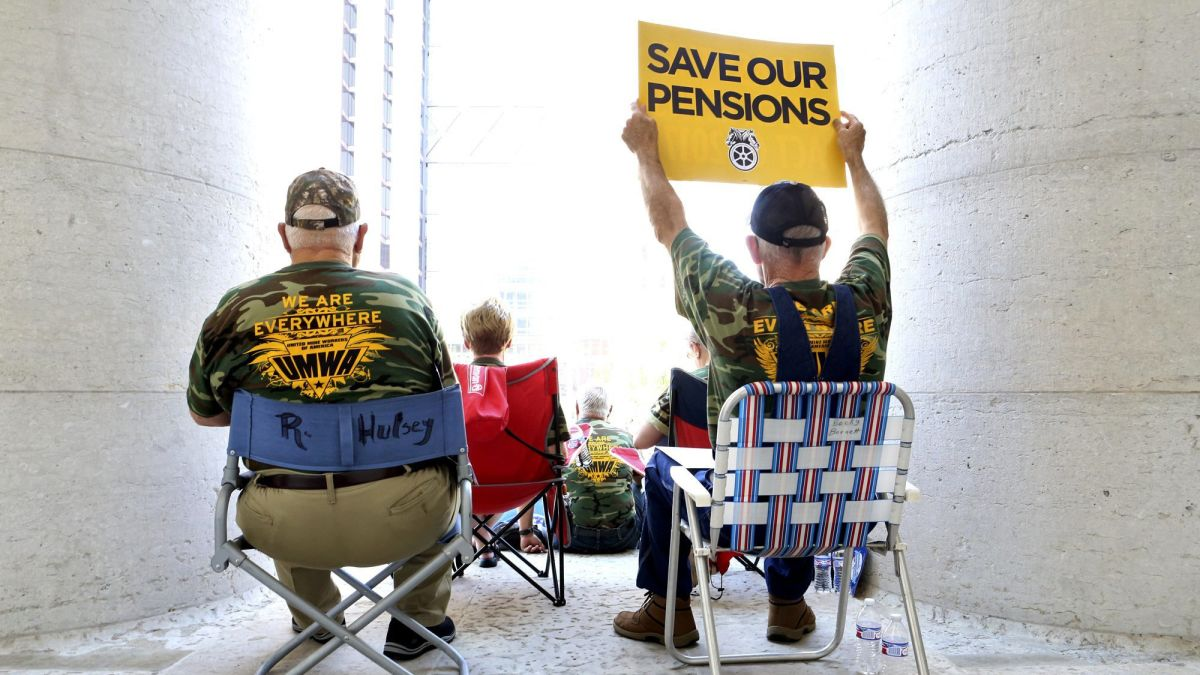 cnn.com - By Lydia DePillis, CNN Business - It just became easier for employers to dump retirees' pensions