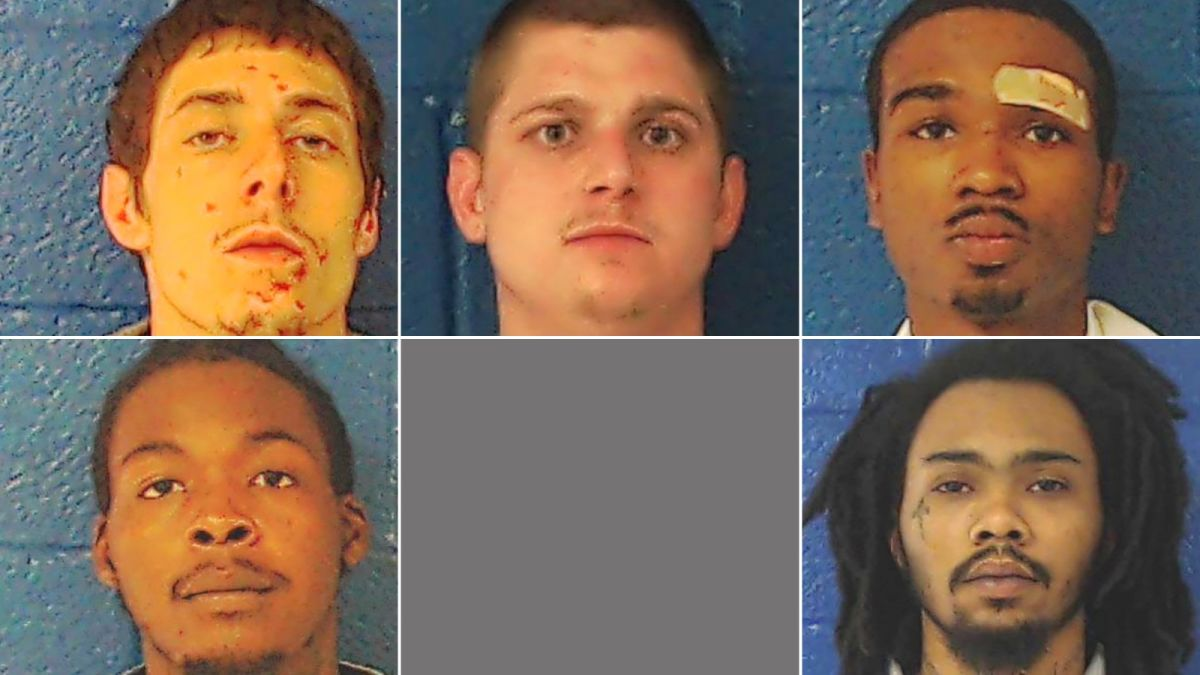 Inmates escape through broken fence in North Carolina