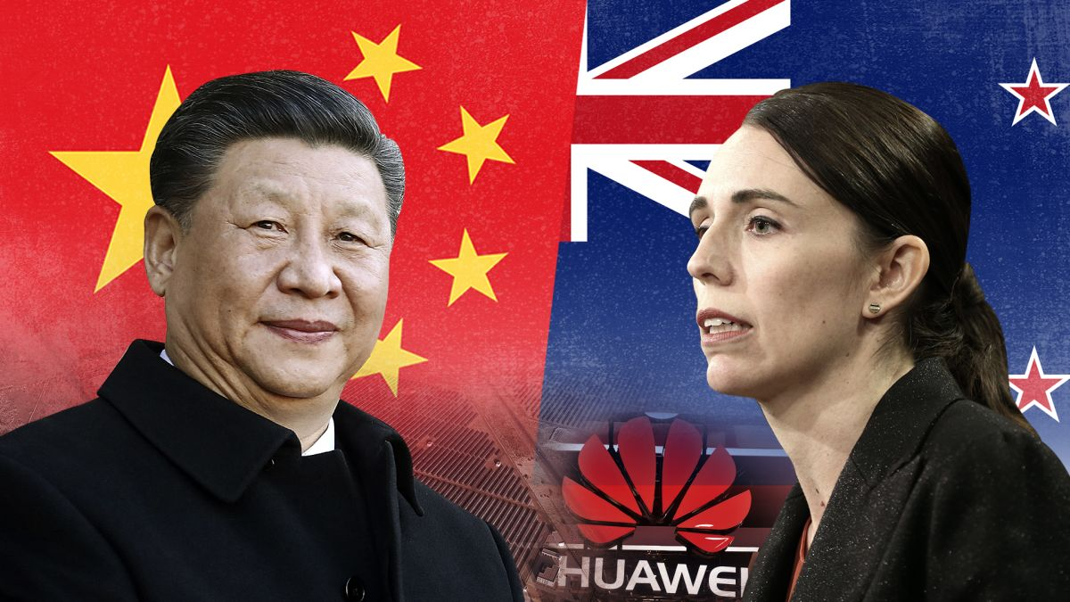 Image result for Chinese Influence Jacinda Ardern