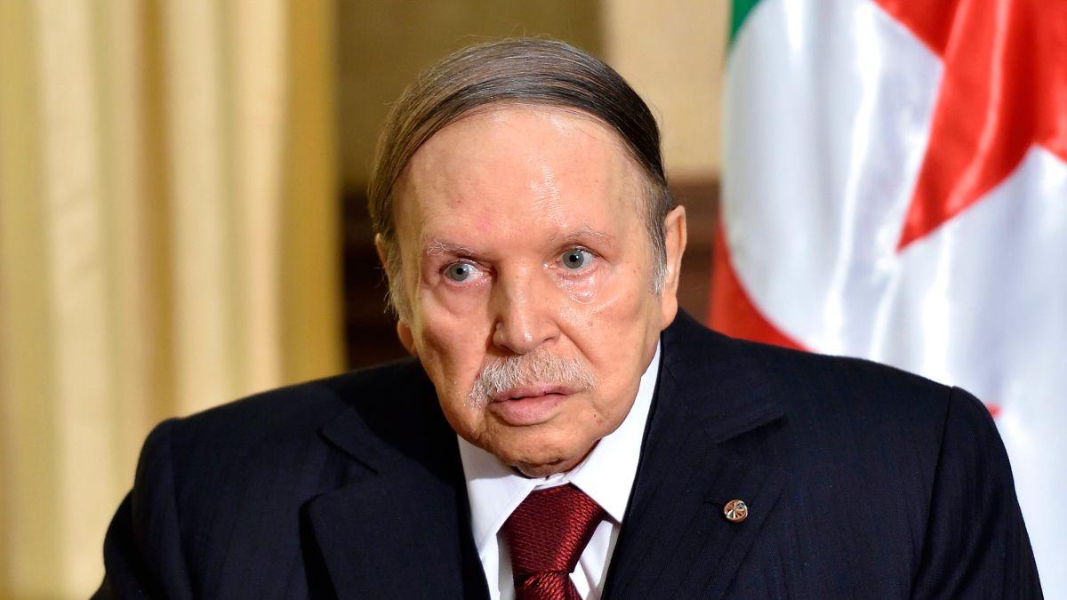 Image result for President of Algeria resigns