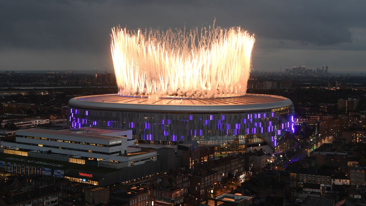 Spurs Stadium Tottenham Opens 1 3 Billion Venue With Win Cnn