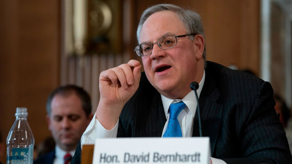 Interior IG opens investigation into Secretary David Bernhardt four days after confirmation