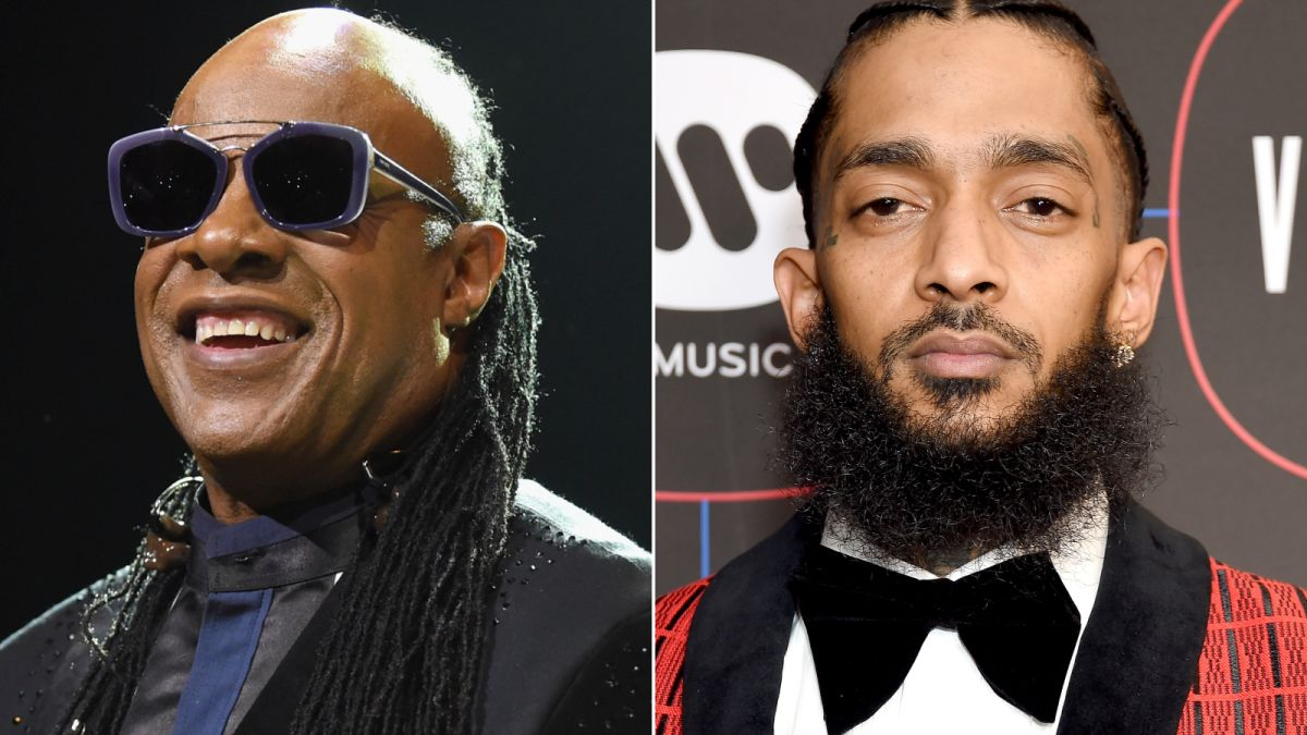 Stevie Wonder playing Nipsey Hussle's funeral is just what
