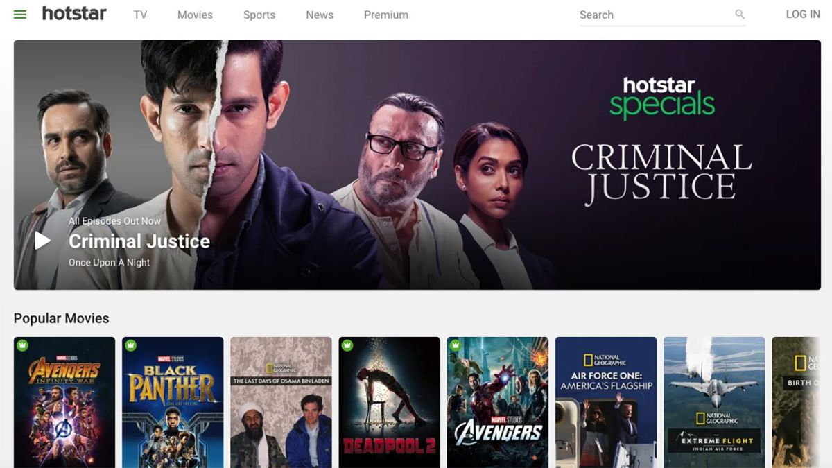 Hotstar: Disney's streaming service in India quadrupled in