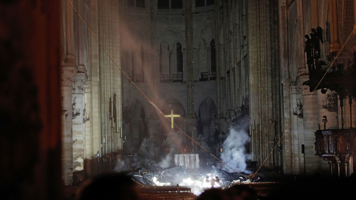Image result for notre dame inside