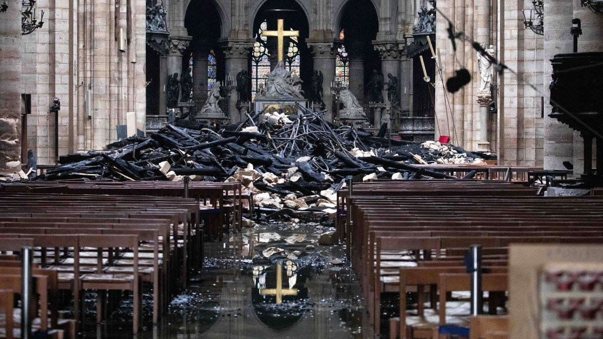 cnn.com - By Kaya Yurieff, CNN Business - Apple pledges to help rebuild Notre Dame Cathedral