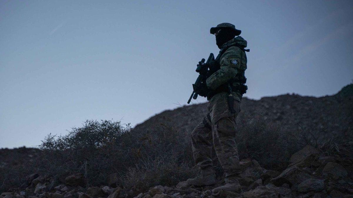 A militia group detained migrants at the border. The ACLU calls it kidnapping