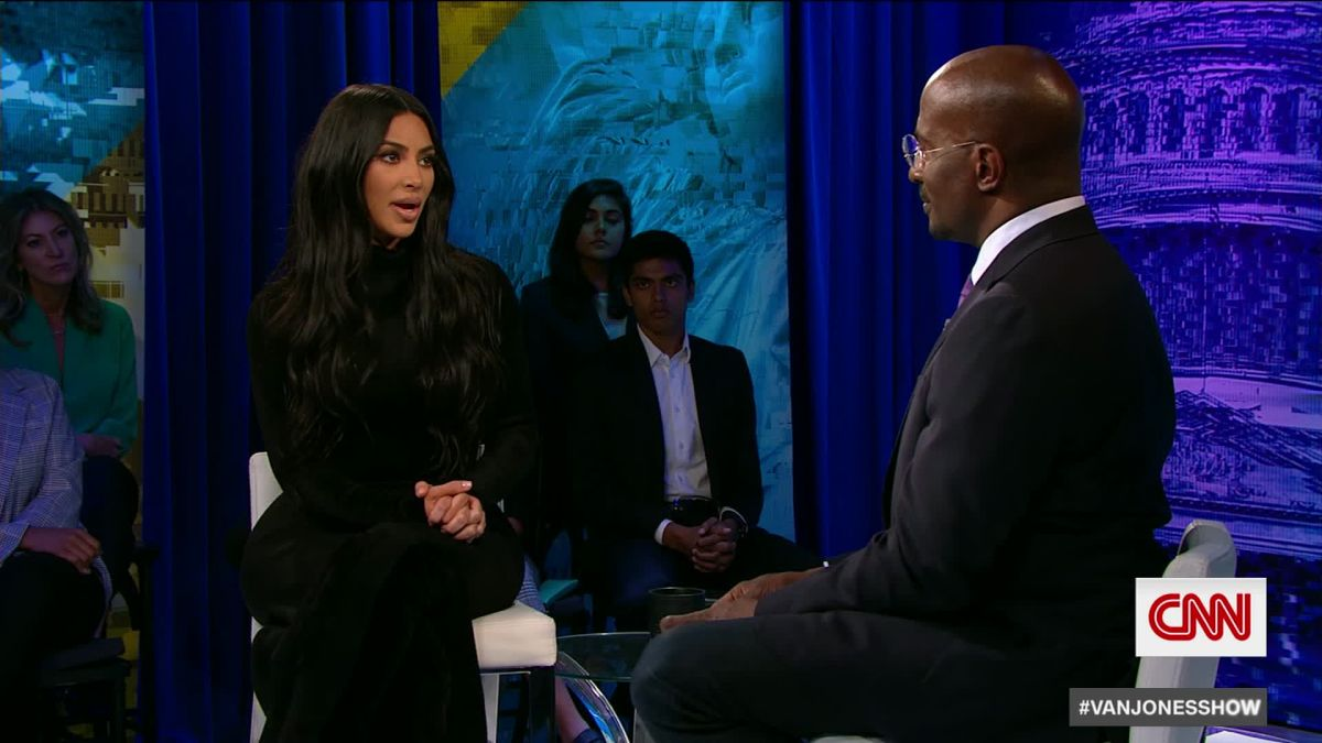 Kim Kardashian on her relationship with the White House - CNN Video