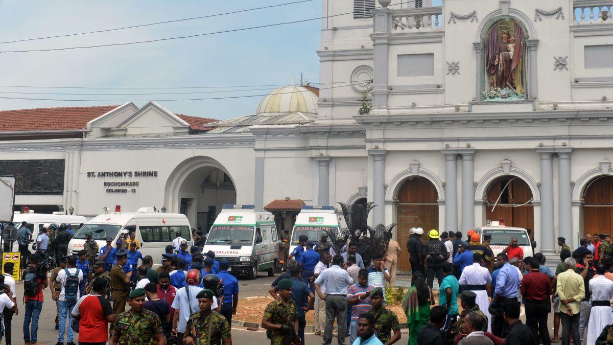 Sri Lanka attacks leave more than 200 dead