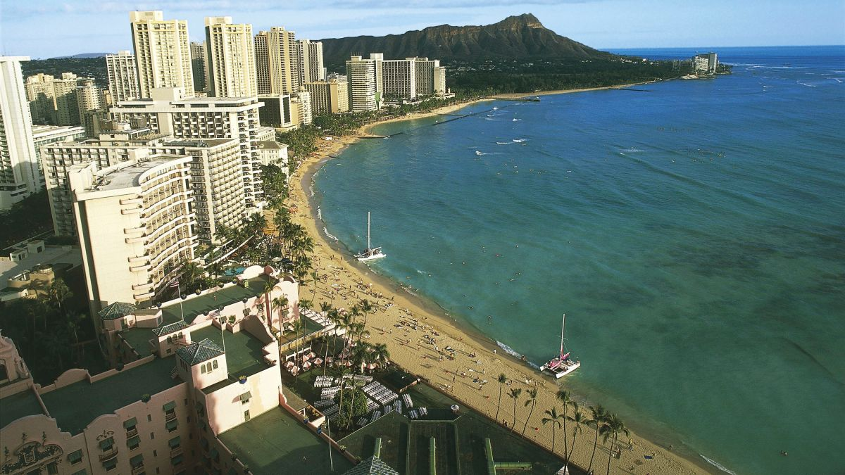 Hawaii's Waikiki Beach could soon be underwater because of climate change. Lawmakers are fighting to preserve it