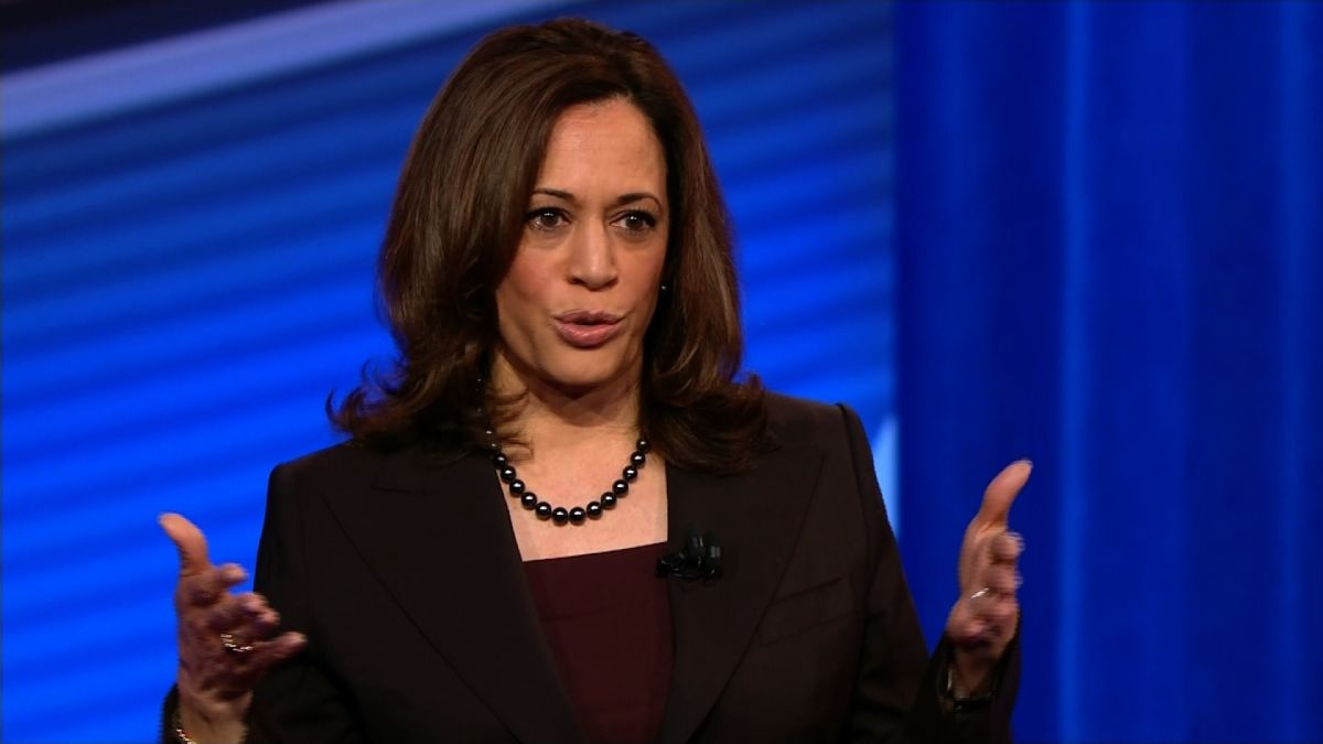 cnn.com - By Ryan Struyk, CNN - Harris says she wouldn't have voted for NAFTA