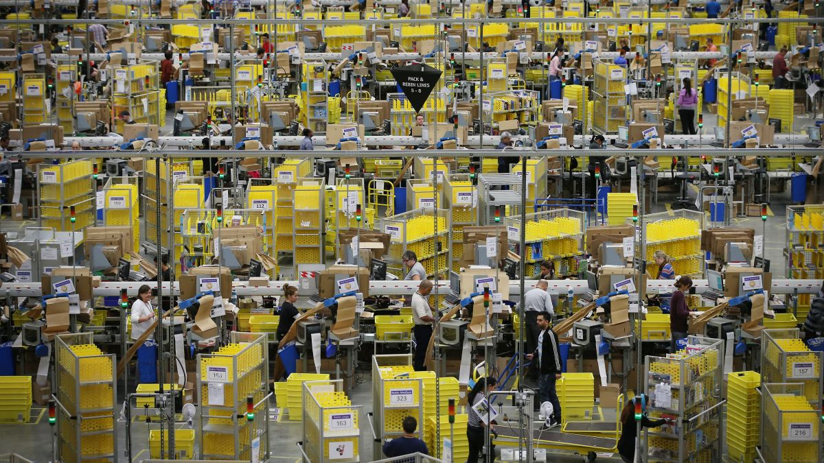 Amazon's one-day shipping plan sparks a tense standoff with