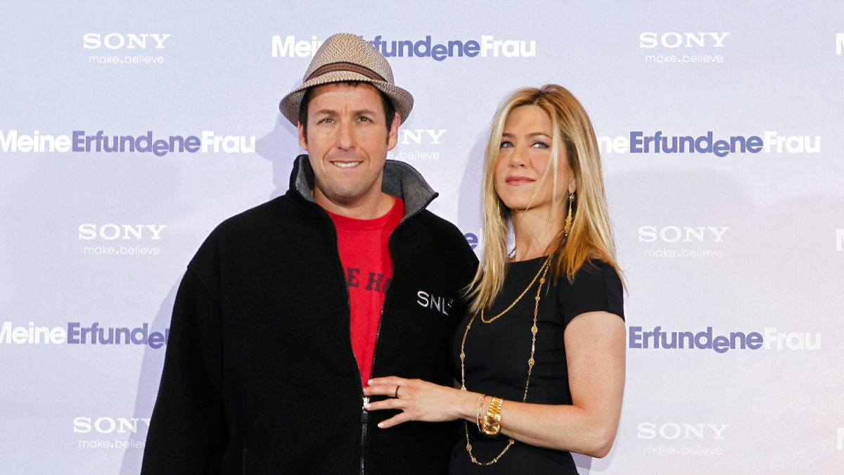 Adam Sandler and Jennifer Aniston are together again in