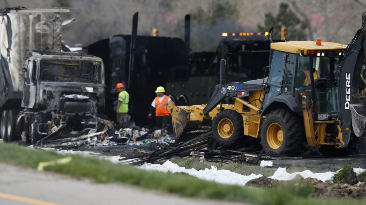 Colorado crash: Truck driver closed his eyes in fear before