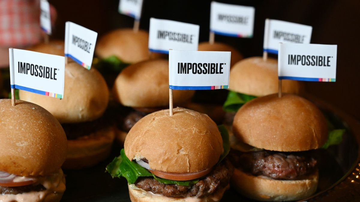 Impossible burger: A truly tasty plant-based patty might just save