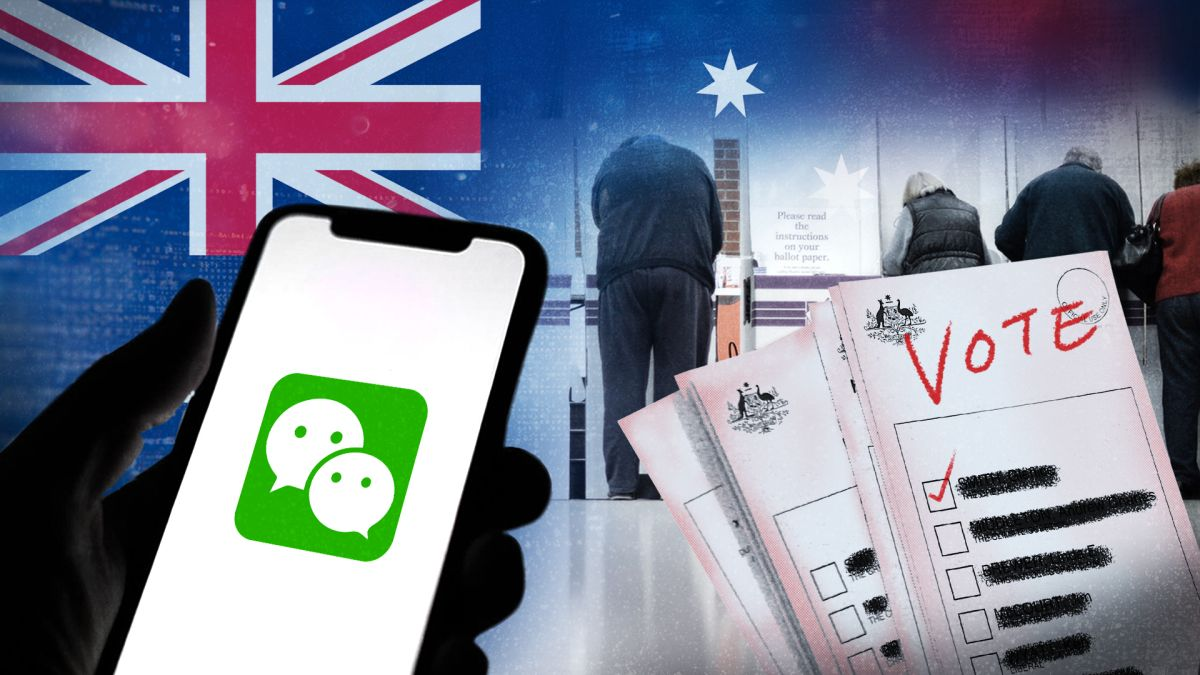 Australian politicians are using WeChat to target voters