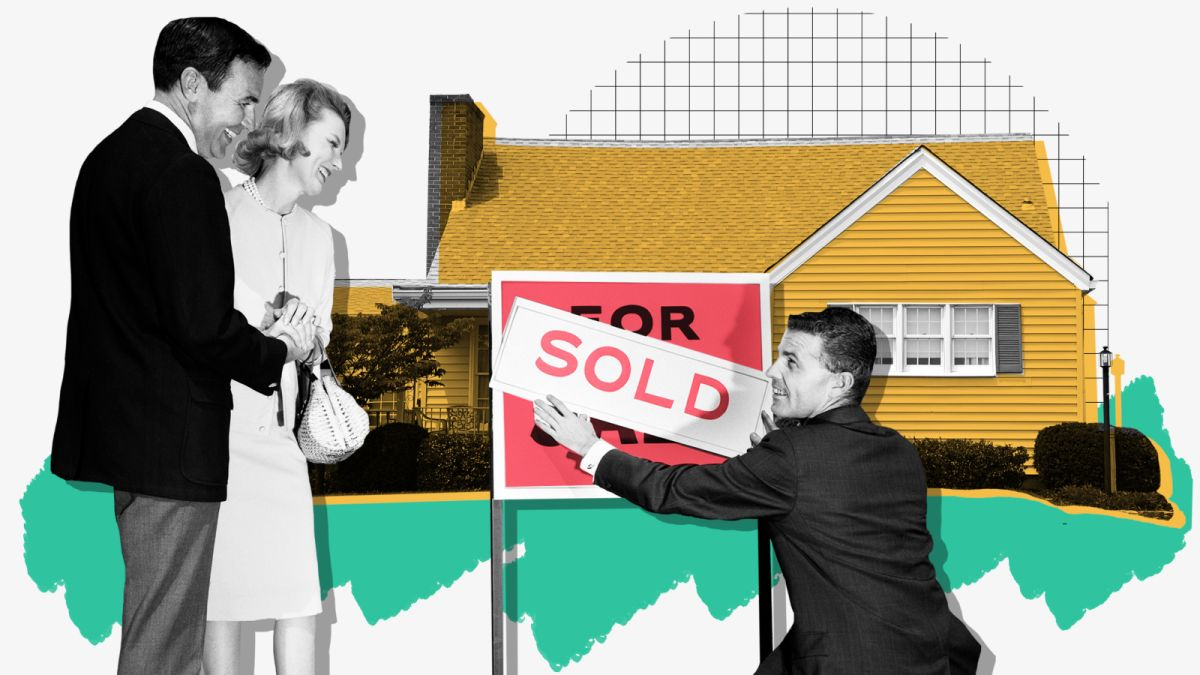 Half of us find our new home online  So why pay Realtors?