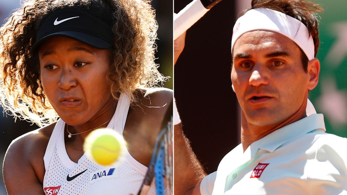 Roger Federer and Naomi Osaka withdraw from Italian Open