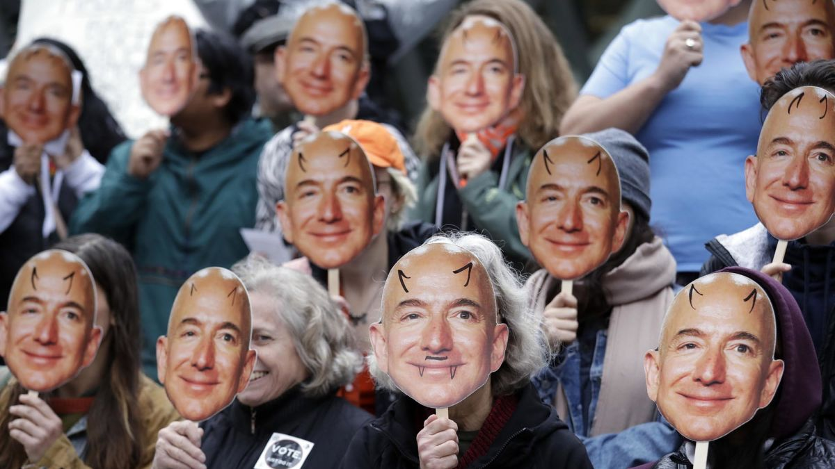 Amazon faces an enormous slate of shareholder proposals for the