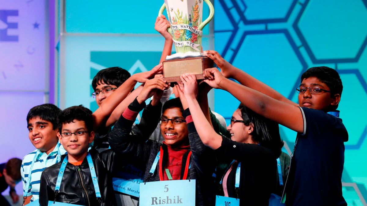 2019 2020 School Spelling Bee Study List.Scripps National Spelling Bee Has 8 Champions Cnn